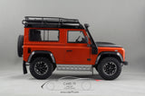 1/18 scale Land Rover Defender 90 Adventure Phoenix Orange