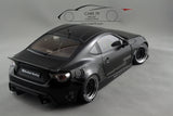 1/18 ROCKET BUNNY TOYOTA 86 (MATT BLACK/BLACK WHEELS)