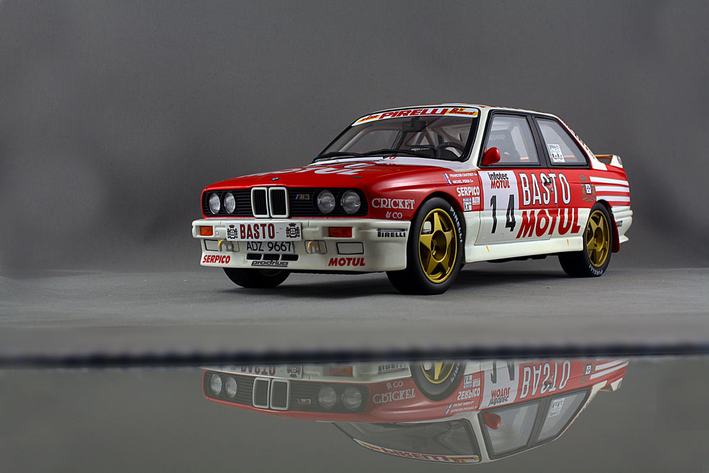 1 18 bmw m3 e30 rally car 79 diecast collections. Black Bedroom Furniture Sets. Home Design Ideas
