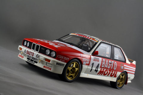 1 18 Bmw M3 E30 Rally Car 79 Diecast Collections