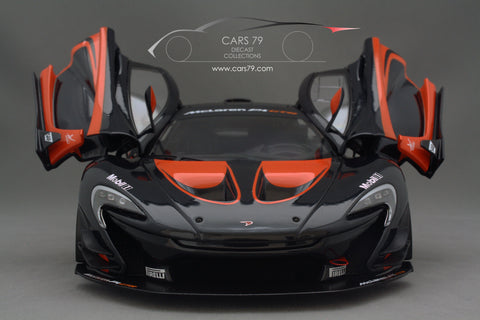 1/18 McLaren P1 GTR (Dark Grey Metallic / Orange Accents) 81543