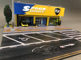 1/64 Spoon Sports Garage Diorama by Magic City