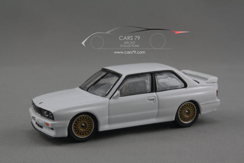 1/64 BMW E30 M3 (Plain White) by Tarmac Works