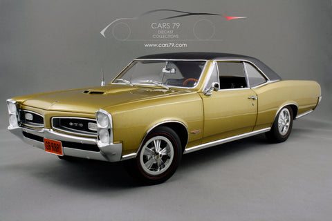 1/18 1966 Pontiac GTO - Tiger Gold by Acme