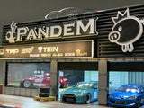 1/64 Pandem Garage Diorama by Magic City