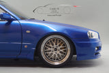 1/18 Nissan Skyline 25GT Turbo (ER34) Blue Metallic by Ignition Model (IG1577)