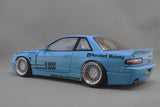 1/18 Rocket Bunny S13 V1 Blue by Ignition Model
