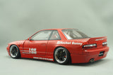 1/18 Rocket Bunny S13 V1 Red by Ignition Model