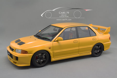1/18 Mitsubishi Lancer Evolution III GSR (CE9A) Yellow by Ignition Model