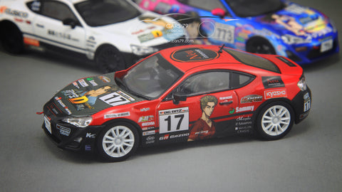 1/43 Toyota 86 K One Racing (Initial D) by Kyosho