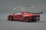 JEC - 1/64 - Lamborghini Aventador LP700-4 LB Works - Metallic Red
