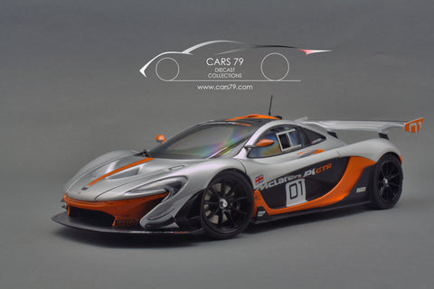 1/18 McLaren P1 GTR Pebble Beach Edition by Almost Real (840101)