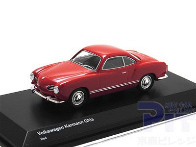 1/64 Volkswagen 55' Karmann Ghia - Red