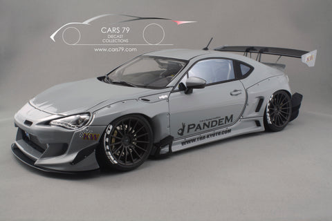 1/18 Pandem Toyota 86 V3 (Grey) by Ignition Model