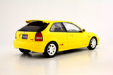 1/18 Honda Civic EK9 Type R (Yellow) Ottomobile/ Kyosho exclusive (OTM724-B)