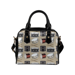 Drum Pattern Shoulder Handbag - TeeAmazing