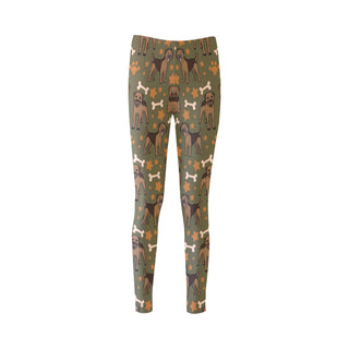 Border Terrier Pattern Cassandra Women's Leggings - TeeAmazing