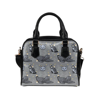 Highlander Cat Shoulder Handbag - TeeAmazing
