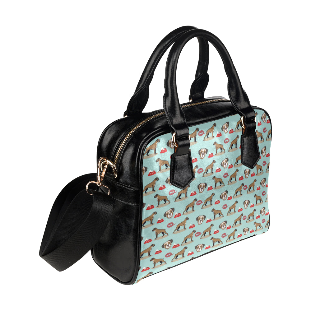 Boxer Pattern Shoulder Handbag - TeeAmazing