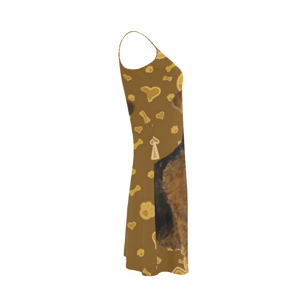 Welsh Terrier Dog Alcestis Slip Dress - TeeAmazing