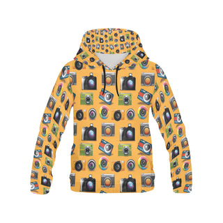 Photographer Pattern All Over Print Hoodie for Men - TeeAmazing