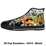 Made only for Real Fans - One Piece Sneakers - TeeAmazing