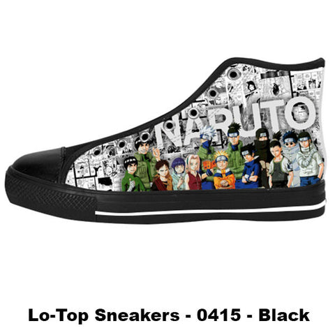 Made only for Real Fans - Naruto Sneakers - TeeAmazing