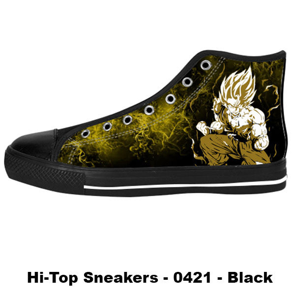 Made only for Real Fans - Goku Sneakers - TeeAmazing