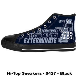 Made only for Real Fans - Dalek Sneakers - TeeAmazing