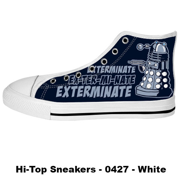Made only for Real Fans - Dalek Sneakers - TeeAmazing - 2