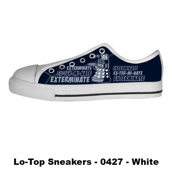 Made only for Real Fans - Dalek Sneakers - TeeAmazing - 4