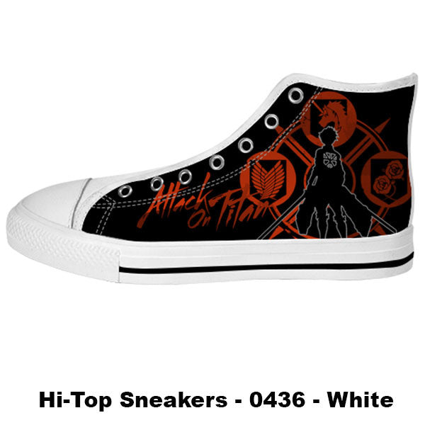 Made only for Real Fans - Attack on Titan Sneakers - TeeAmazing