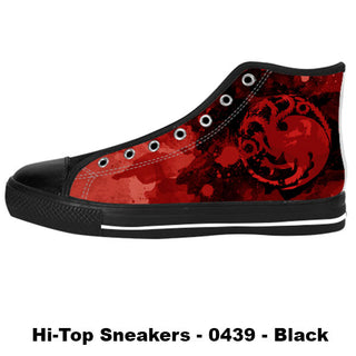 Made only for Real Fans - Targaryen Sneakers - TeeAmazing