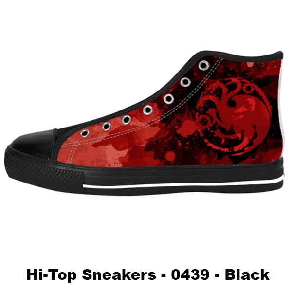 Made only for Real Fans - Targaryen Sneakers - TeeAmazing - 1