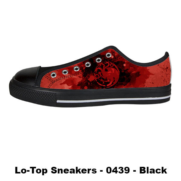 Made only for Real Fans - Targaryen Sneakers - TeeAmazing - 3