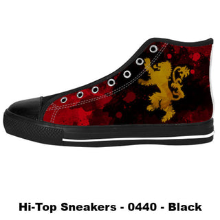 Made only for Real Fans - Lannister Sneakers - TeeAmazing