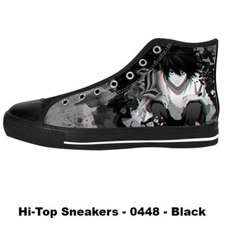 Made only for Real Fans - Death Note Sneakers - TeeAmazing