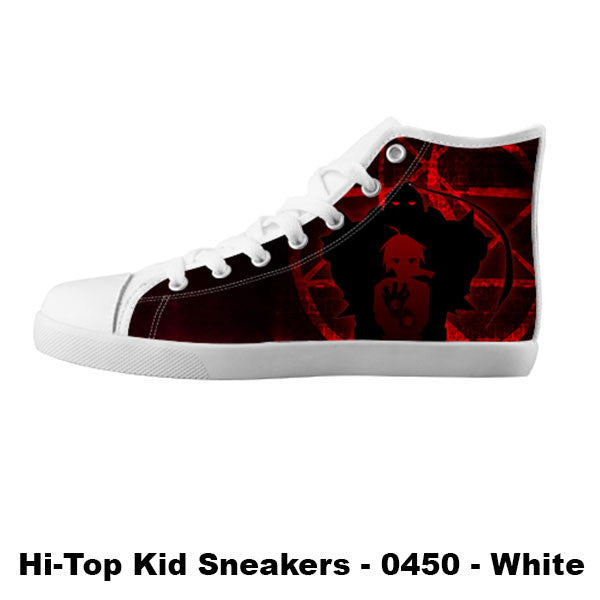 Made only for Real Fans - Fullmetal Alchemist Sneakers - TeeAmazing