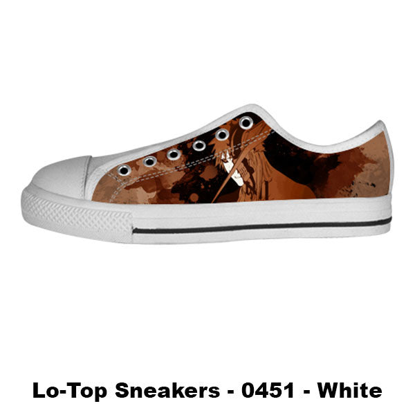 Made only for Real Fans - Bleach Sneakers - TeeAmazing - 4