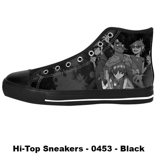 Made only for Real Fans - Gorillaz Sneakers - TeeAmazing