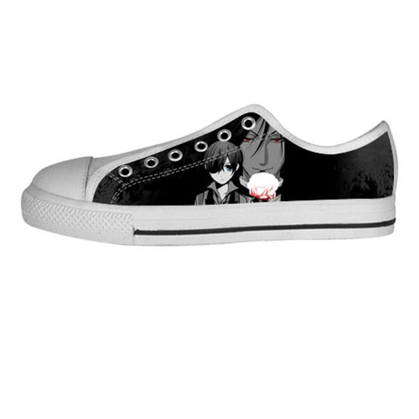 Made only for Real Fans - Black Butler Sneakers - TeeAmazing