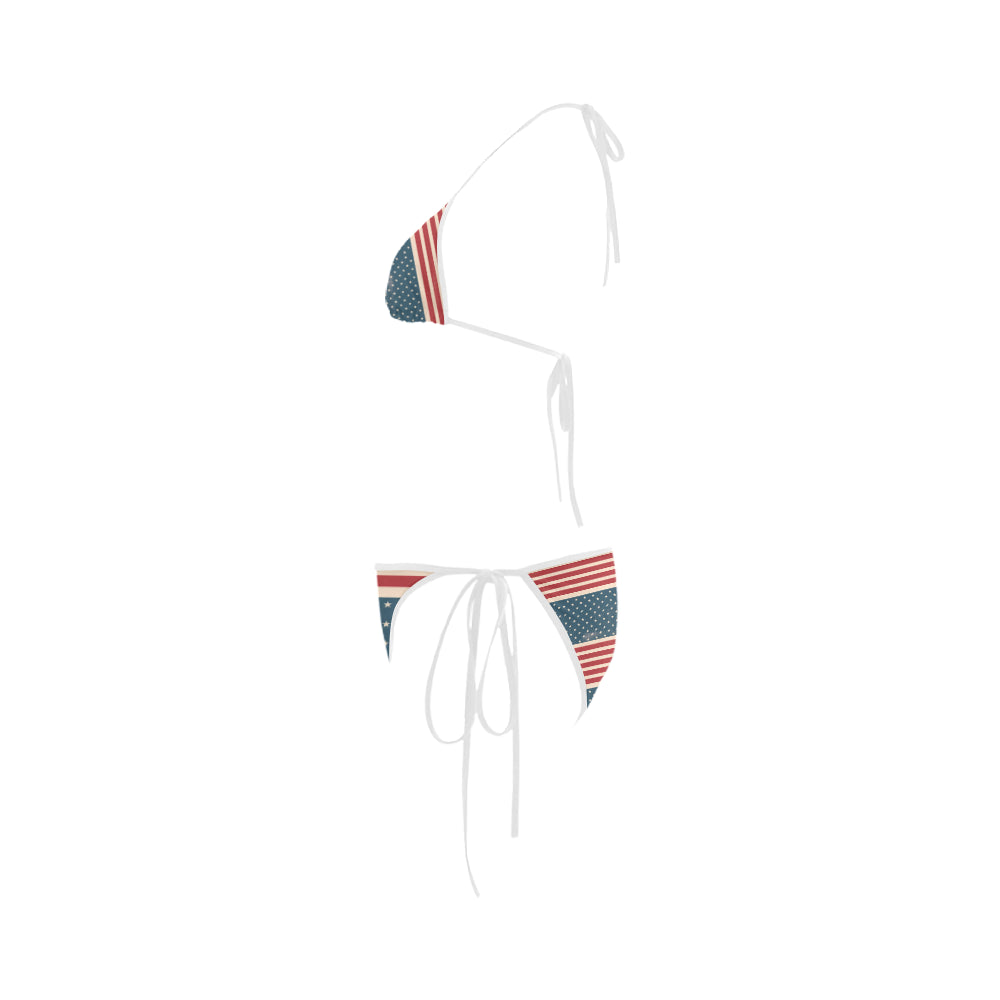 4th July V2 Custom Bikini Swimsuit - TeeAmazing