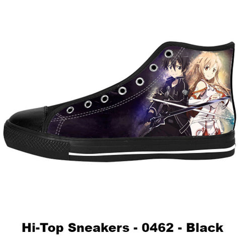 Made only for Real Fans - Sword Art Online Sneakers - TeeAmazing