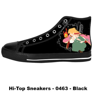 Made only for Real Fans - Howl's Moving Castle Sneakers - TeeAmazing