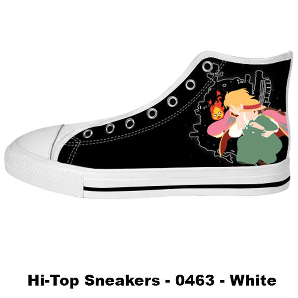 Made only for Real Fans - Howl's Moving Castle Sneakers - TeeAmazing - 2