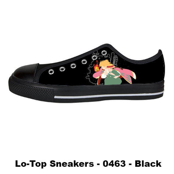 Made only for Real Fans - Howl's Moving Castle Sneakers - TeeAmazing - 3