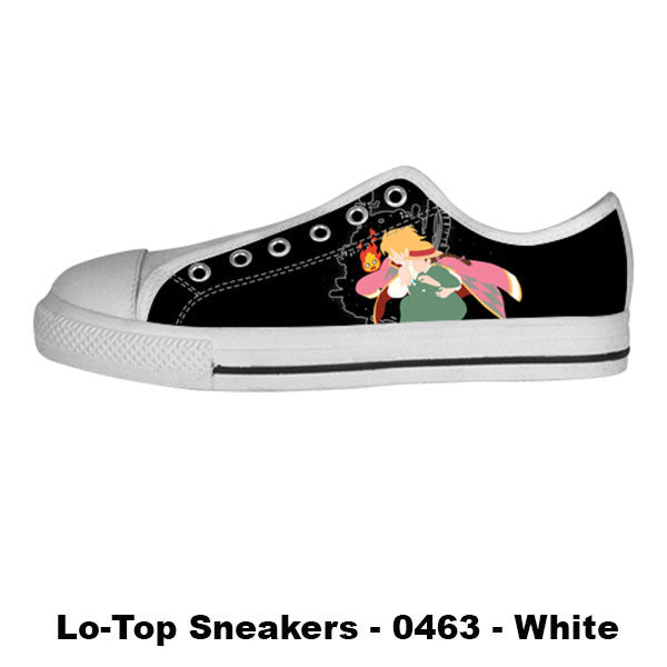 Made only for Real Fans - Howl's Moving Castle Sneakers - TeeAmazing - 4