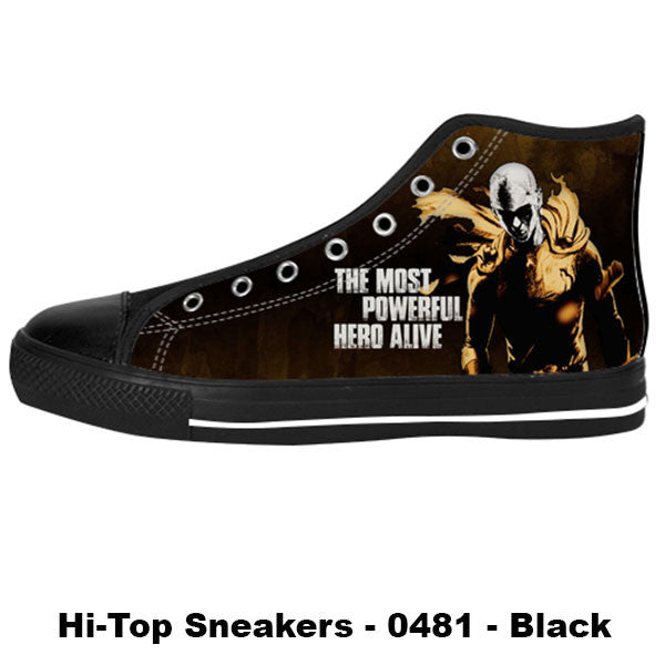 Made only for Real Fans - One Punch Man Sneakers - TeeAmazing - 1