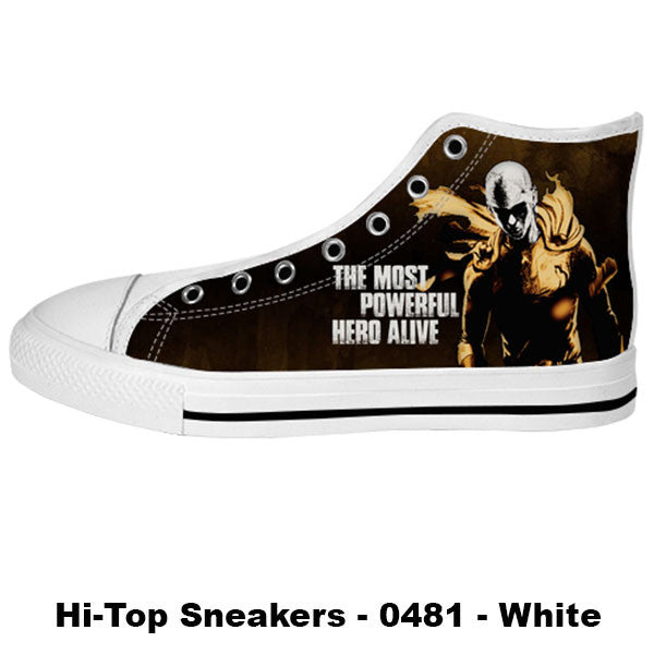 Made only for Real Fans - One Punch Man Sneakers - TeeAmazing - 2