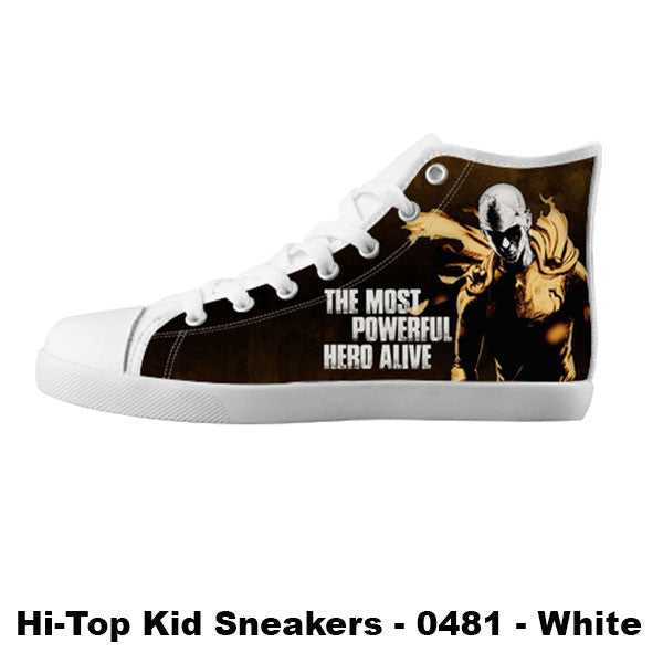 Made only for Real Fans - One Punch Man Sneakers - TeeAmazing